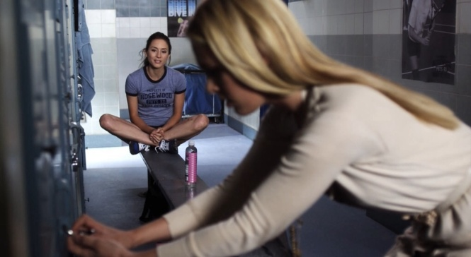 PLL Spencer gym clothes 2x18